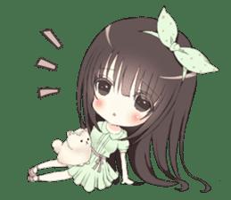 Milk, The Cute Junior High School Girl sticker #2542002