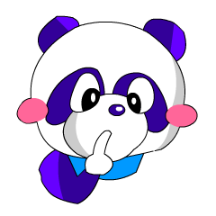 Kawaii Comical Panda (Fancy Ver)