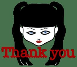 Tokyo GOTH Girls sticker #2552909