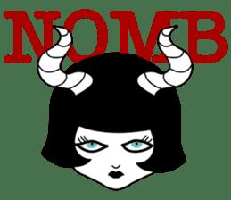 Tokyo GOTH Girls sticker #2552913