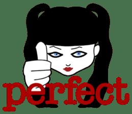 Tokyo GOTH Girls sticker #2552916