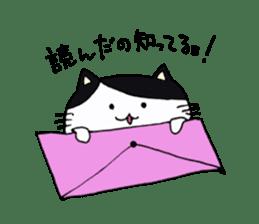 Lucy cat sticker #2557806