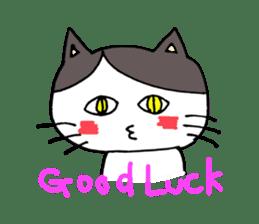 Lucy cat sticker #2557814