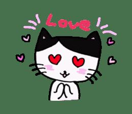 Lucy cat sticker #2557824