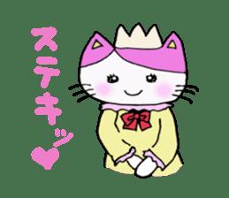 Lucy cat sticker #2557825