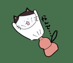 Lucy cat sticker #2557835