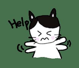 Lucy cat sticker #2557839