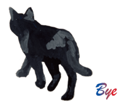 Cats, nothing special, in English sticker #2560403