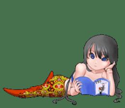 Mermaid doll Momo-chan sticker #2565292