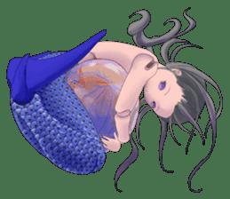 Mermaid doll Momo-chan sticker #2565301