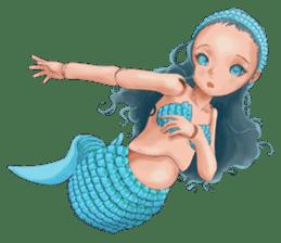 Mermaid doll Momo-chan sticker #2565307