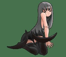 Mermaid doll Momo-chan sticker #2565310