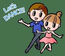 Ballet boy and girl!  Petit Ballerina2 sticker #2566733