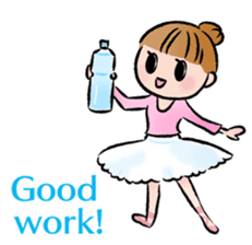 Ballet boy and girl!  Petit Ballerina2 sticker #2566760