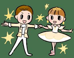 Ballet boy and girl!  Petit Ballerina2 sticker #2566769