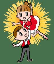 Ballet boy and girl!  Petit Ballerina2 sticker #2566772