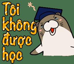 A liar Otter(Vietnamese) sticker #2567214