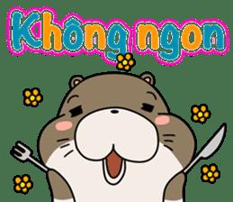 A liar Otter(Vietnamese) sticker #2567216