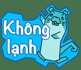 A liar Otter(Vietnamese) sticker #2567224