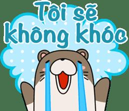 A liar Otter(Vietnamese) sticker #2567226