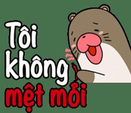 A liar Otter(Vietnamese) sticker #2567228