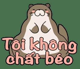 A liar Otter(Vietnamese) sticker #2567231