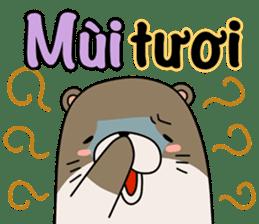 A liar Otter(Vietnamese) sticker #2567232