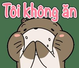 A liar Otter(Vietnamese) sticker #2567239
