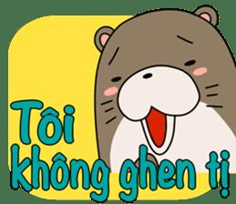 A liar Otter(Vietnamese) sticker #2567240