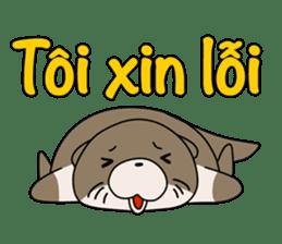 A liar Otter(Vietnamese) sticker #2567244