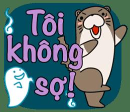 A liar Otter(Vietnamese) sticker #2567245