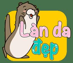 A liar Otter(Vietnamese) sticker #2567248