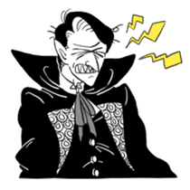 Dracula the celebrity life sticker #2570170