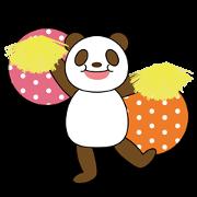 สติ๊กเกอร์ไลน์ The Brown Panda