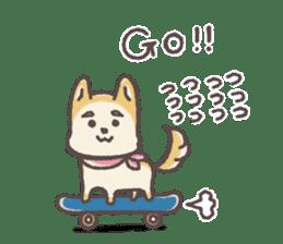 SHIBAWAN! English version sticker #2571887