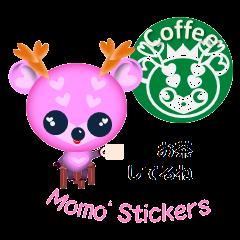 """Pink deer """"momo"""""""