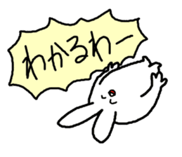 response rabbit sticker #2578491