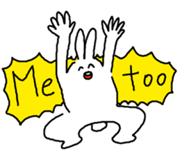 response rabbit sticker #2578493