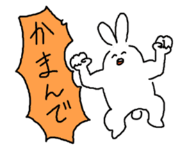 response rabbit sticker #2578498