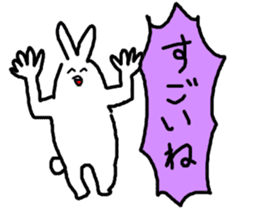response rabbit sticker #2578499