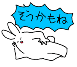 response rabbit sticker #2578500
