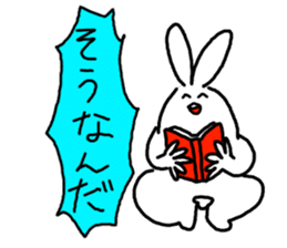 response rabbit sticker #2578502