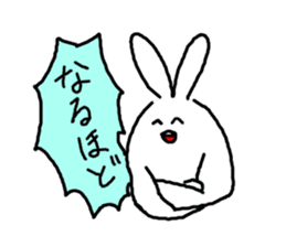 response rabbit sticker #2578507