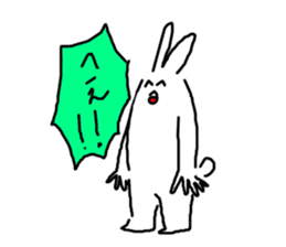 response rabbit sticker #2578508
