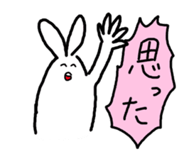 response rabbit sticker #2578511