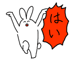 response rabbit sticker #2578515