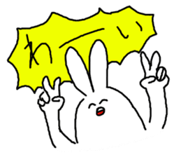 response rabbit sticker #2578516