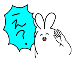 response rabbit sticker #2578521