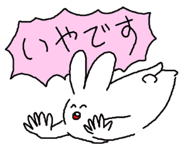 response rabbit sticker #2578525