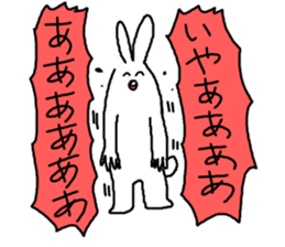 response rabbit sticker #2578526